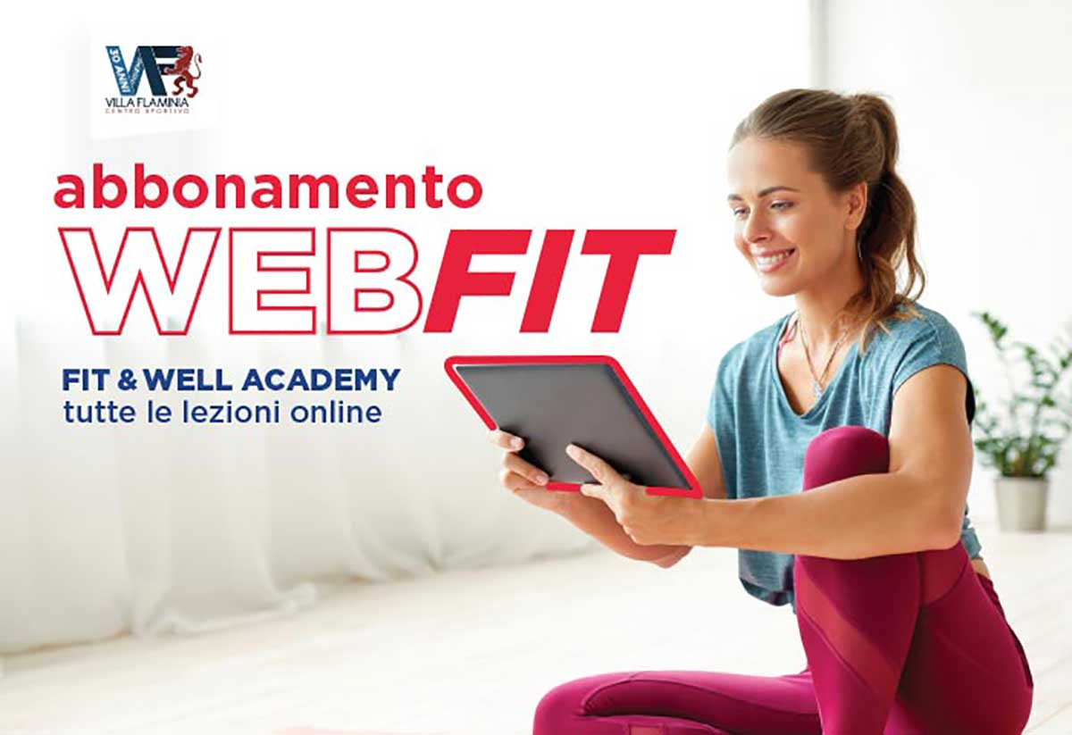 Abbonamento WebFit su Piattaforma Fit&Well Academy