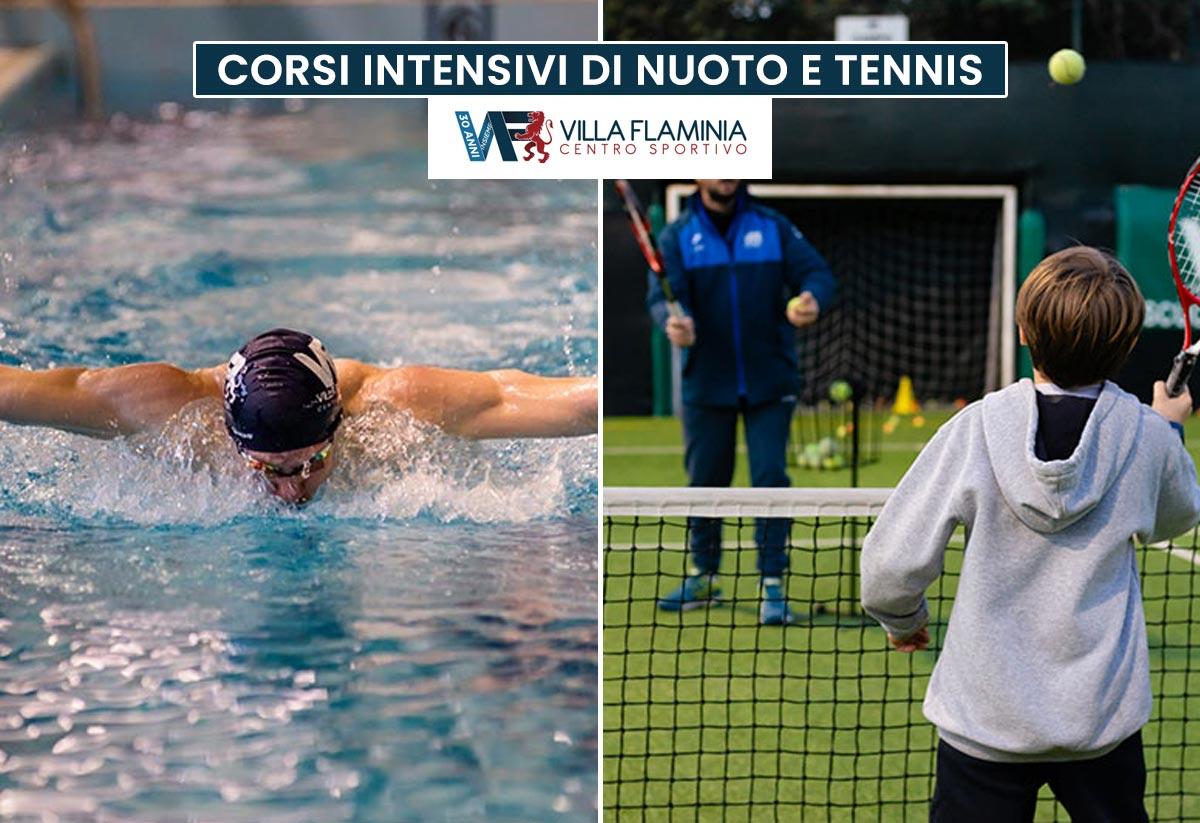 Corsi intensivi di Nuoto e Tennis